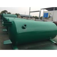 Carbon Steel Verticial Underground Oil Storage Tanks High Pressure Vessel Manufactures