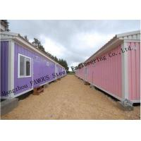 Modified Shipping Container House Prefab Mobile Homes With Insulation Panels Easy Installation Manufactures