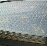Galvanized / galvalume ASTM A36, Q235B, Q345B Hot Rolled Checkered Steel Plate / Coils Manufactures
