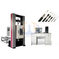 High Performance Electronic Universal Testing Machine , Tensile Testing Machine GB/T228-2002 Manufactures