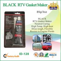 Black Gasket Maker Waterproof Silicone Sealant / High Temperature Silicone Glue  Manufactures