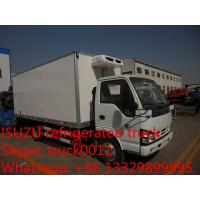 hot sale Japane Brand 4*2 ISUZU 5ton cold room truck, best price ISUZU brand LHD 3tons-5tons refrigerated truck for sale Manufactures