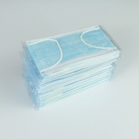 Individual Packaged Customized BFE≥95% Adult Blue Face Mask Manufactures