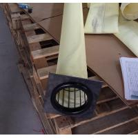 FMS 9806 DN130x6000mm high temperature dust filter bag used in crude iron making plant dust house Manufactures