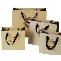 China Fashion Clothing Paper Bags , OEM Paper Carry Bag Support Offset Printing on sale