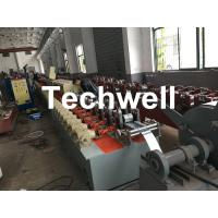 Polyurethane Foam - Filled Rolling Shutter Roll Forming Machine For Making Door & Window Slats Manufactures