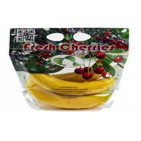 Anti - Fog Fresh Fruit Bags Clear Plastic OPP/CPP Protection Packaging With Zipper