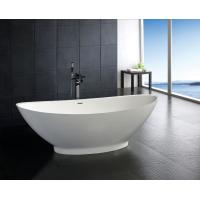China contemporary Free Standing stone resin bathtub bathroom soaking tubs and showers on sale