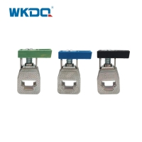 Brass 300V 76A 16mm2 Screw Connection Terminal Block Manufactures
