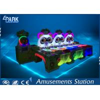 Cute Panda Amusement Game Machines 6 Player Ball Shooting For Shopping Mall Manufactures