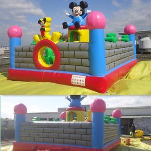 Durable Infaltable Castle Disney Land Amusment Park Manufactures