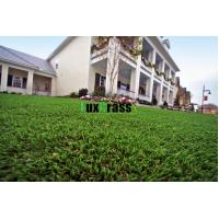 China Artificial grass lawns for residential yards backyards on sale