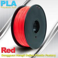 PLA  Filament, 1.0kg /  roll ,1.75mm / 3.0mm  3D Printer Filament Red colors Manufactures