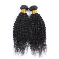 Natural Color Kinky Curl Original Brazilian Human Hair Wet and Wavy Weave Manufactures