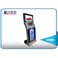 Automatic Touch Screen Information Kiosk Operated Tap Hotel Lobby With Cash Reader Manufactures
