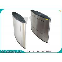 School Subway High Security Flap Gate Smart Waterproof Turnstile System Manufactures