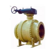 Ansi  Carbon  Stainless Steel Ball Valve 3-PCS Trunnion Type Manufactures