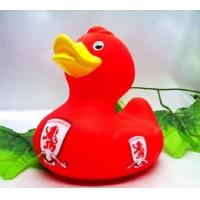 Quality Football Club Team World Cup Rubber Duck Toy Eco Friendly Vinyl For Baby Shower for sale