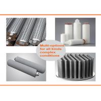 BOCIN High Precision Industrial Cartridge Filters / Metal Stainless Steel Housing Filter Manufactures
