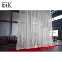 aluminum adjustable curtain pipe ceremony backdrop diy event decoration equipment led curtain pipe Manufactures