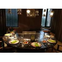 Teppanyaki with Built-in Air Blower and Electrostatic Fume Purifier used for Private Club Manufactures