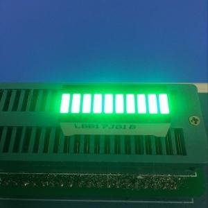 Pure Green 10 LED Light Bar 120MCD - 140MCD Luminous Intensity Manufactures