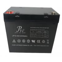 Flame Retardant 12V Sealed AGM Deep Cycle Battery 55AH For UPS EPS Telecom Manufactures
