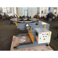 Automatic Welding Positioners 3 Ton Tilting / Rotation Capacity CE Oil - free Gearbox Manufactures