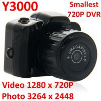 Y3000 8MP Thumb 720P Mini DVR Camera Smallest Outdoor Sports Spy Video Recorder PC Webcam Manufactures