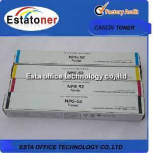 Npg52 Color Laser Printer Toner For Canon Image Runner Advance C2020 / C2030 Manufactures