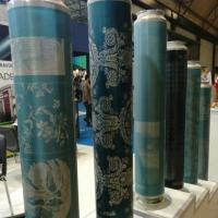 165M 155M Standard Wallpaper Rotary Printing Screen For Textile Machinery Spare Manufactures