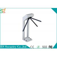 Waist Height Automatic Tripod Turnstile Gate Security Card Or Biometric Manufactures