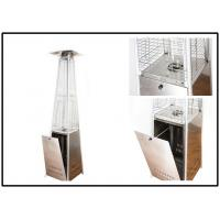 Anti Tip Portable Square Patio Heater With Wheels Propane Butane Fuel Type Manufactures