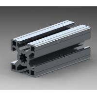 OEM Aluminum Extrusion Profiles For Assembly Workshop , Extruded Aluminum Channel Manufactures