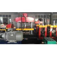 Two Waves Cold Highway Guardrail Roll Forming Machine PLC Control System Manufactures