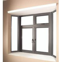 6060 Aluminum Window Extrusion Profiles For Side Hung Opening Casement Window Manufactures