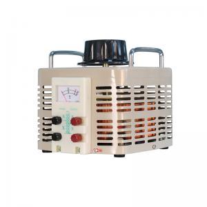AC Single Phase TDGC2J-5K Analog Meter Display Voltage Regulator Manufactures