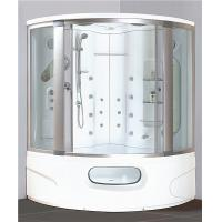 Modern Corner Shower Tub Combo , Steam Shower Cubicle Enclosure Bath Cabin With Jets Manufactures