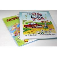 Pantone Color Hardbound Childrens Book Printing With Uv Varnish / Offset Printer Manufactures