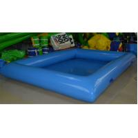 Commercial PVC Tarpaulin Inflatable Water Toys , Aqua Park Equipment Large Manufactures