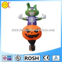 Unique Inflatable Pumpkin Halloween Outside Decorations For Party Manufactures