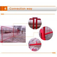 Galvanized Canada temporary fence,high standard construction fence,removable fence