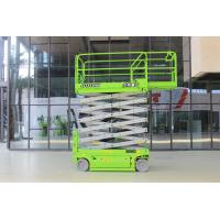 AWP 12m self propelled Scissor Manlifts with 320kg load capacity Manufactures