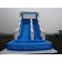 Outdoor Inflatable Amusement Slide Pool For Kids CE Certificate Waterproof Slide Manufactures