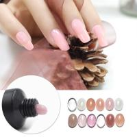 Beautiful Sweet Color Poly Gel (Tube)  High quantity for  Nude Color LED/UV Gel Polish Manufactures