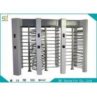 Electronic Security Full Height Turnstiles 120 Degree Rotation Pedestrian Access Manufactures
