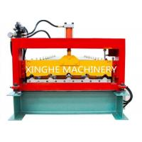 Buy cheap PLC Automatic Zinc Roofing Double Layer Roll Forming Machine / Roof Panel Forming Machine from wholesalers