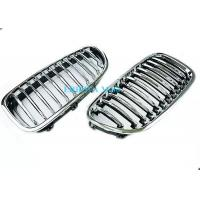 Fiber Style Radiator Mesh Grille Mould With Chrom , Grille Molding For BMW E60 Manufactures