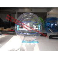 Quality walk on water plastic ball ball shaped water bottle polymer jumbo water ball for sale
