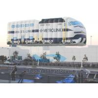 Heat Sealed Outdoor Advertising Balloons / Giant Car Helium Balloon Advertising Manufactures